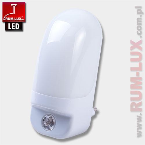 mini lampka LN-06 LED  z sensorem zmierzchu [ciepło biała]